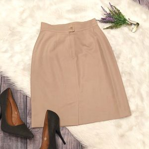 MAX Mara Virgin Wool Classic Pencil Skirt
